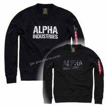 Alpha Industries Camo Print Sweater 176301 – Bild 7