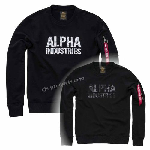 Alpha Industries Camo Print Sweater – Picture 7