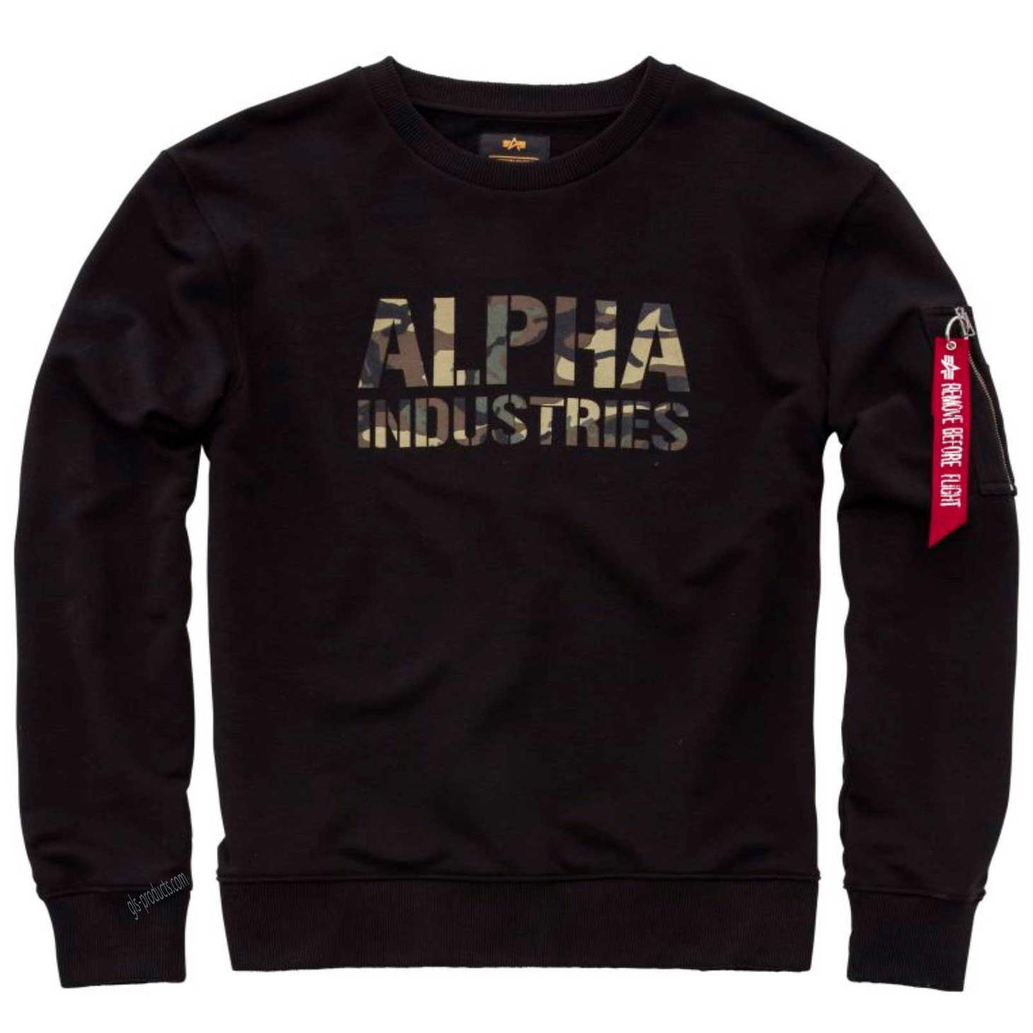 Alpha Industries Camo Print Sweater 176301 – Picture 2