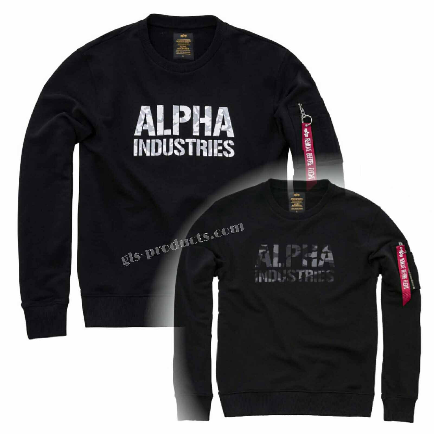 Alpha Industries Camo Print Sweater 176301 – Picture 7