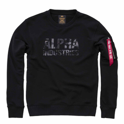 Alpha Industries Camo Print Sweater 176301 – Bild 3