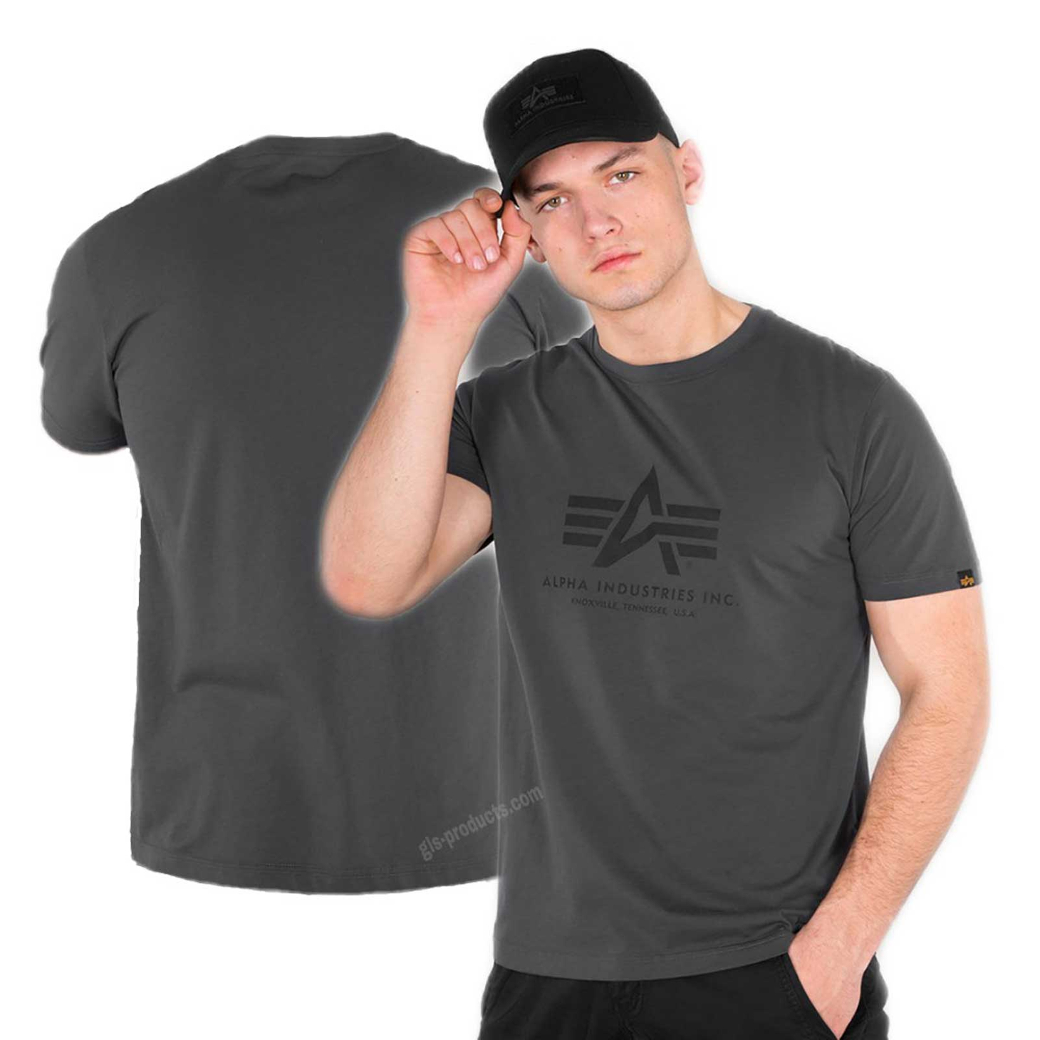 Alpha Industries Basic T-Shirt 100501 – Picture 1