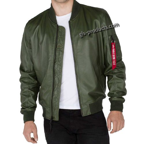 Alpha Industries MA-1 Leather LW II – Picture 8