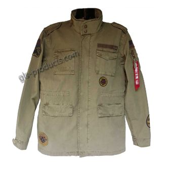 Alpha Industries Huntington Patch Field Jacket 176117 – Picture 2