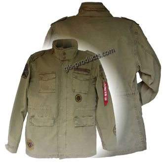 Alpha Industries Huntington Patch Field Jacket – Picture 1
