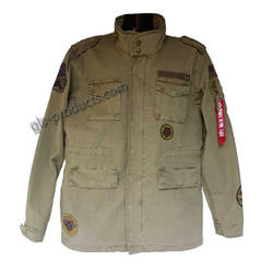 Alpha Industries Huntington Patch Field Jacket 176117 – Bild 2