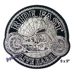 "Aufnäher Circle Chopper Patch 9"" PPA9437 – Bild 1"