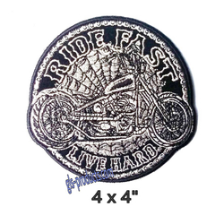 "Aufnäher Circle Chopper Patch 4"" PPA9430 – Bild 1"