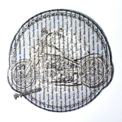 "Aufnäher Circle Chopper Patch 4"" PPA9430 – Bild 2"