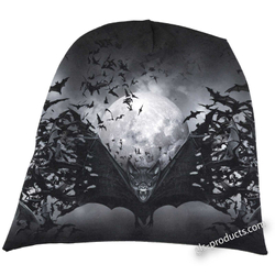 Goth Nights Beanie Bat M023A801 – Bild 1