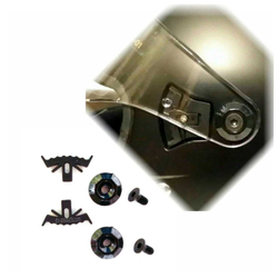 Visierbefestigung Bandit Helmets Alien II, Fighter, EXX