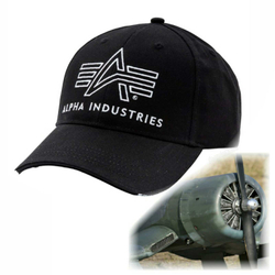Alpha Industries Big A Classic Cap 178904 – Bild 1