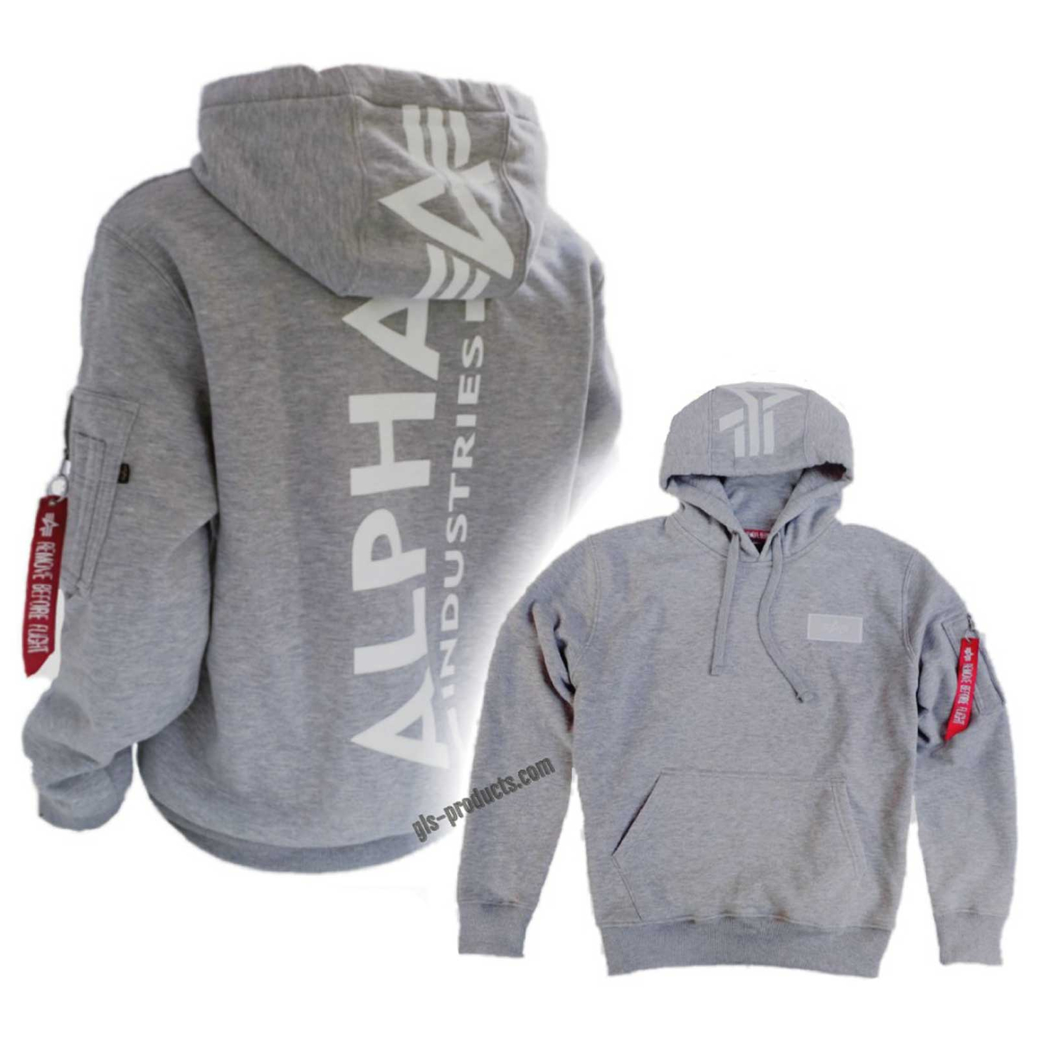 Alpha Industries Back Print Hoody 178318 – Picture 3