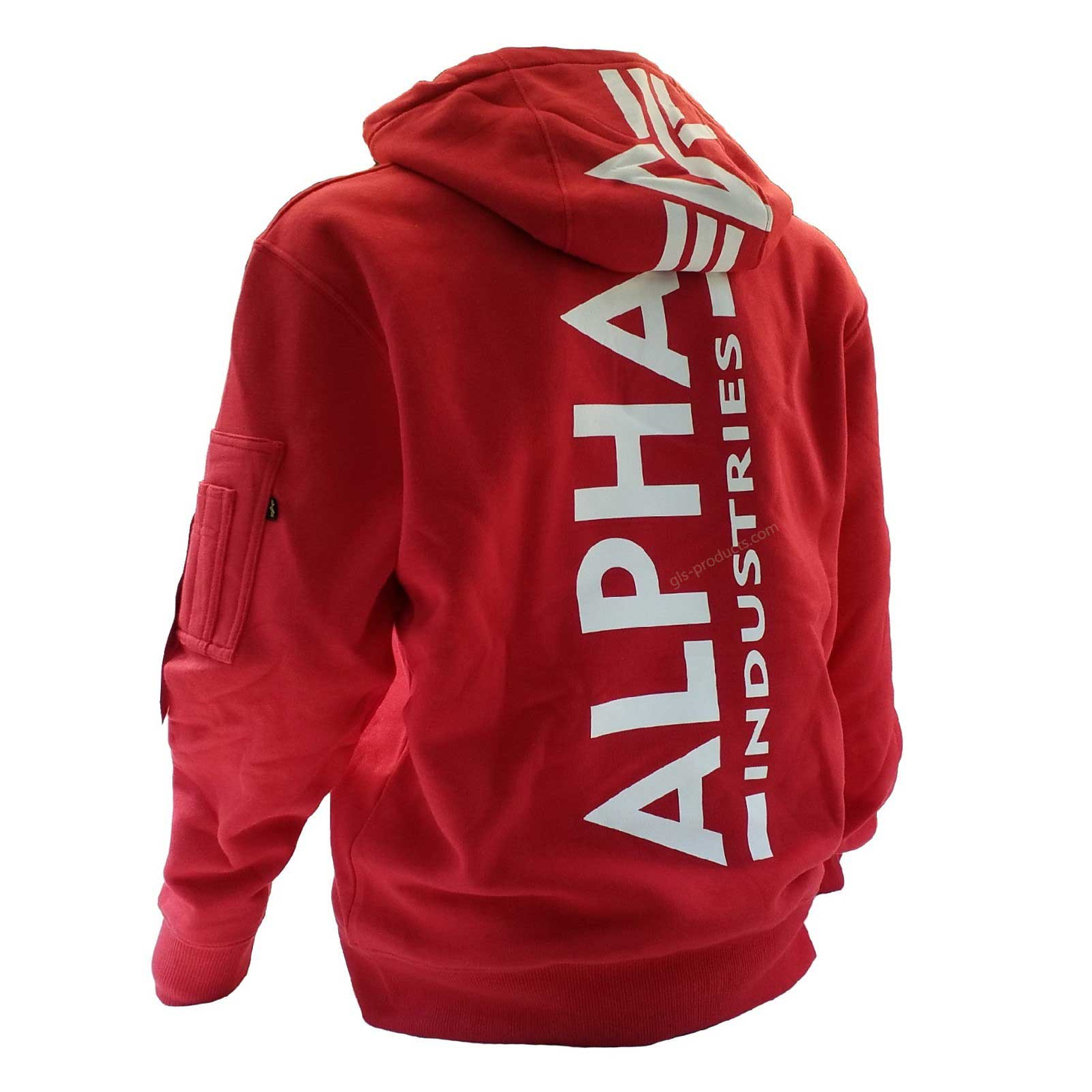 Alpha Industries Back Print Hoody 178318 – Picture 4