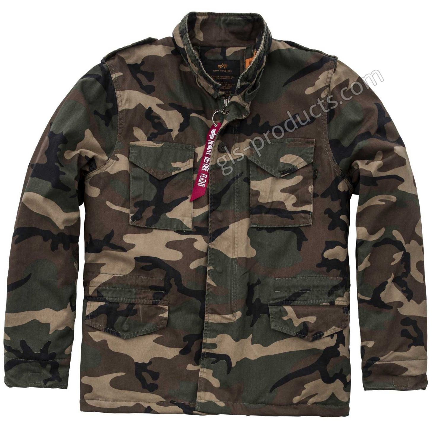 Alpha Industries Vintage M-65 CW Parka 178114 – Picture 2