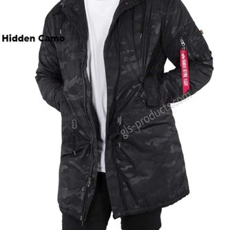 Alpha Hooded Fishtail CW Hidden Camo – Picture 1