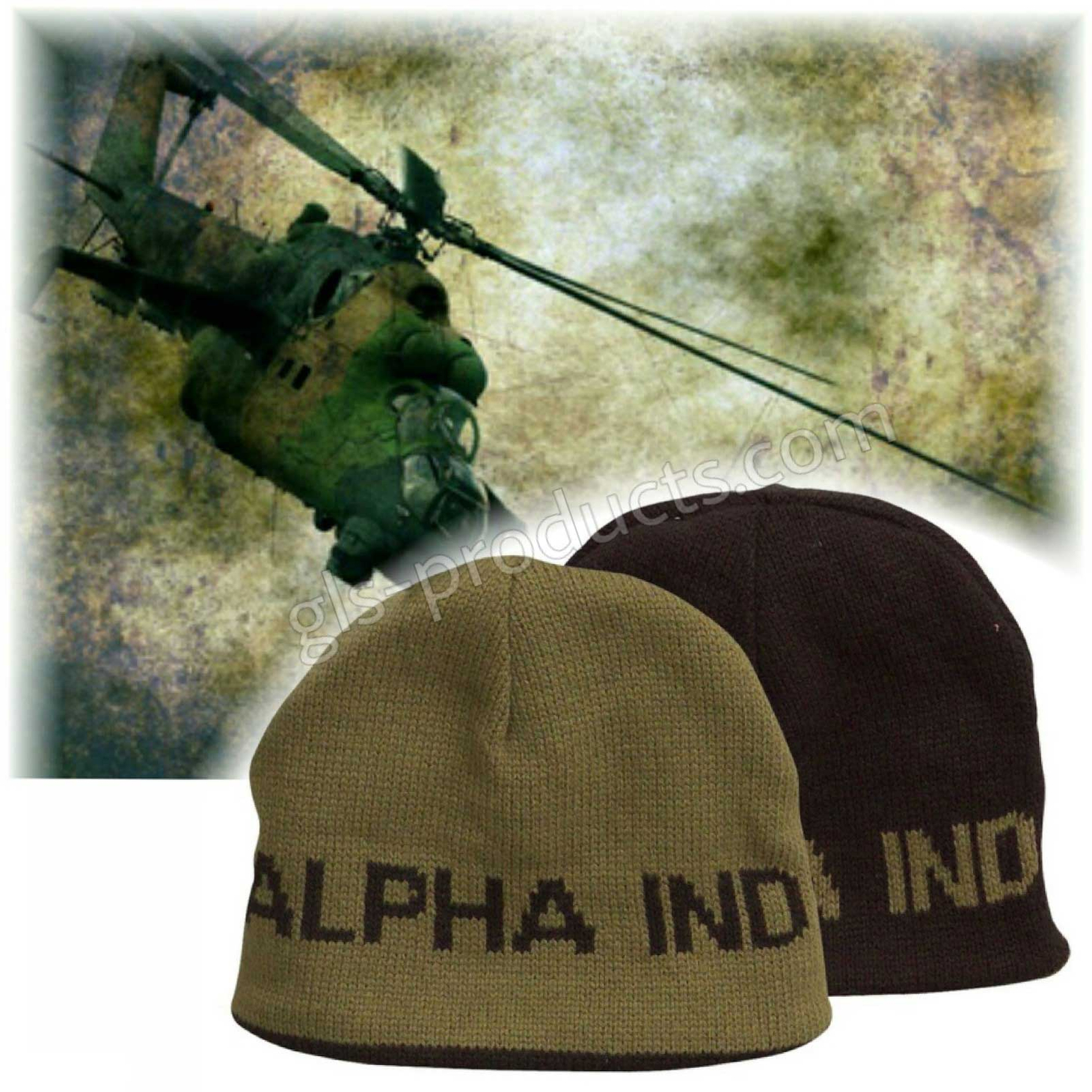 Alpha Reversible Beanie black-olive 153900