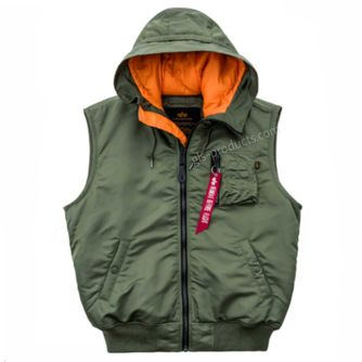 Alpha Industries Hooded MA-1 Vest 17832 – Picture 3