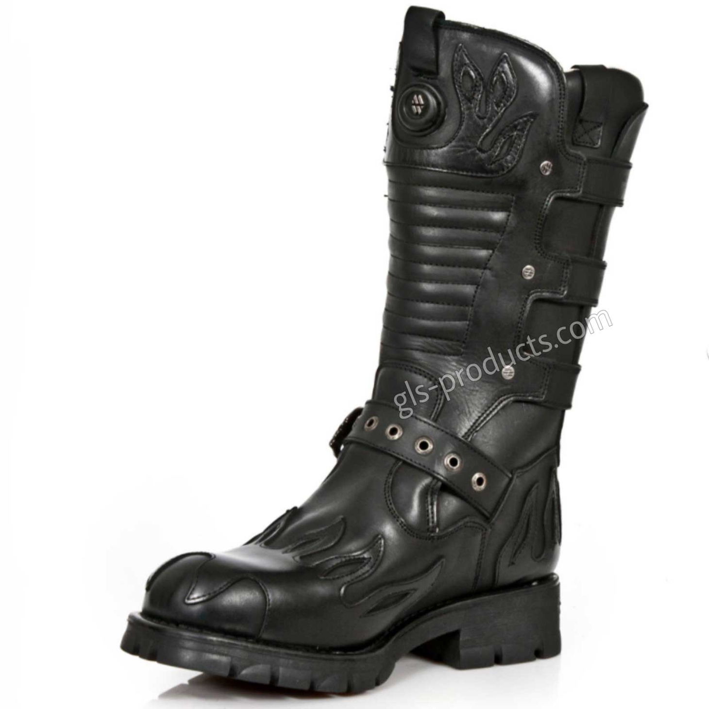 New Rock Biker Boots M 7603-C2 – Picture 3