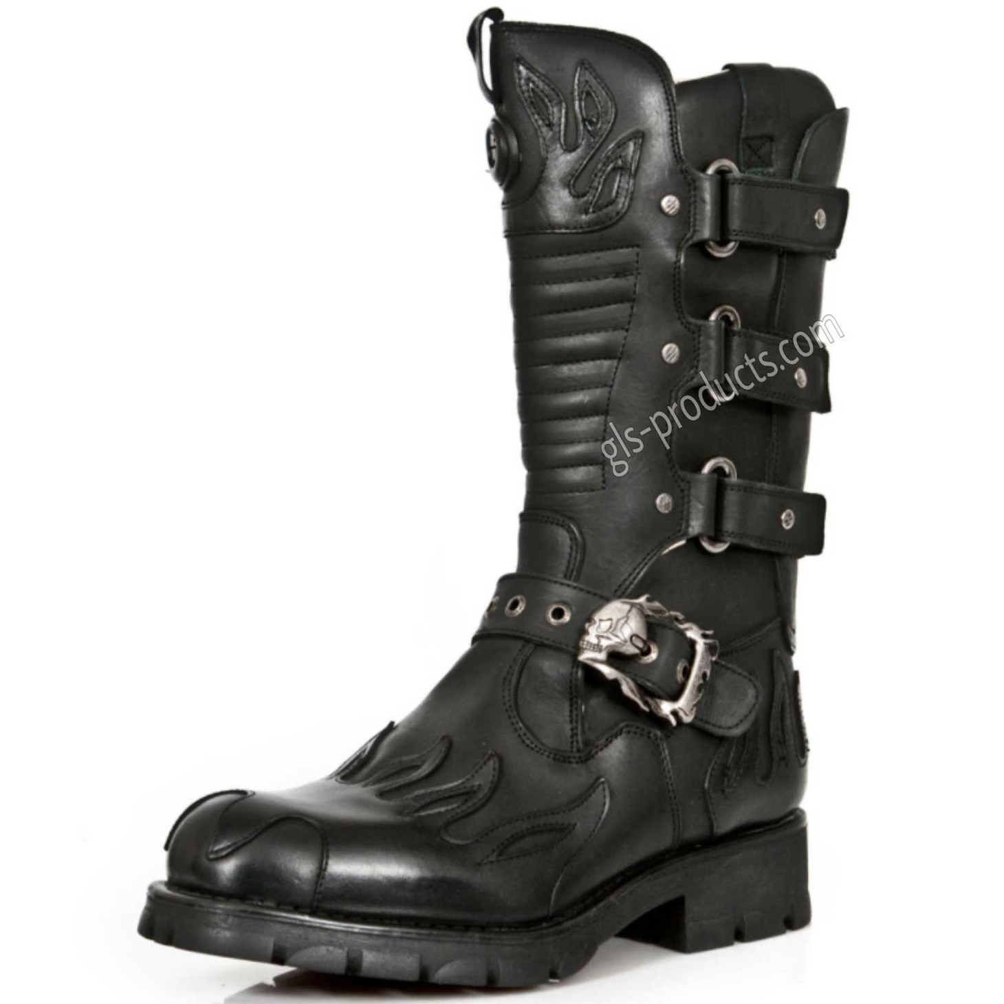 New Rock Biker Boots M 7603-C2 – Picture 2