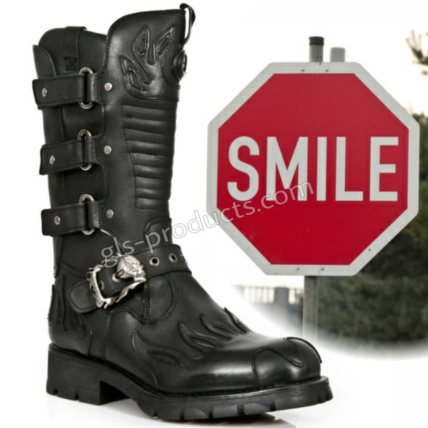 New Rock Biker Boots M 7603-C2 – Picture 9