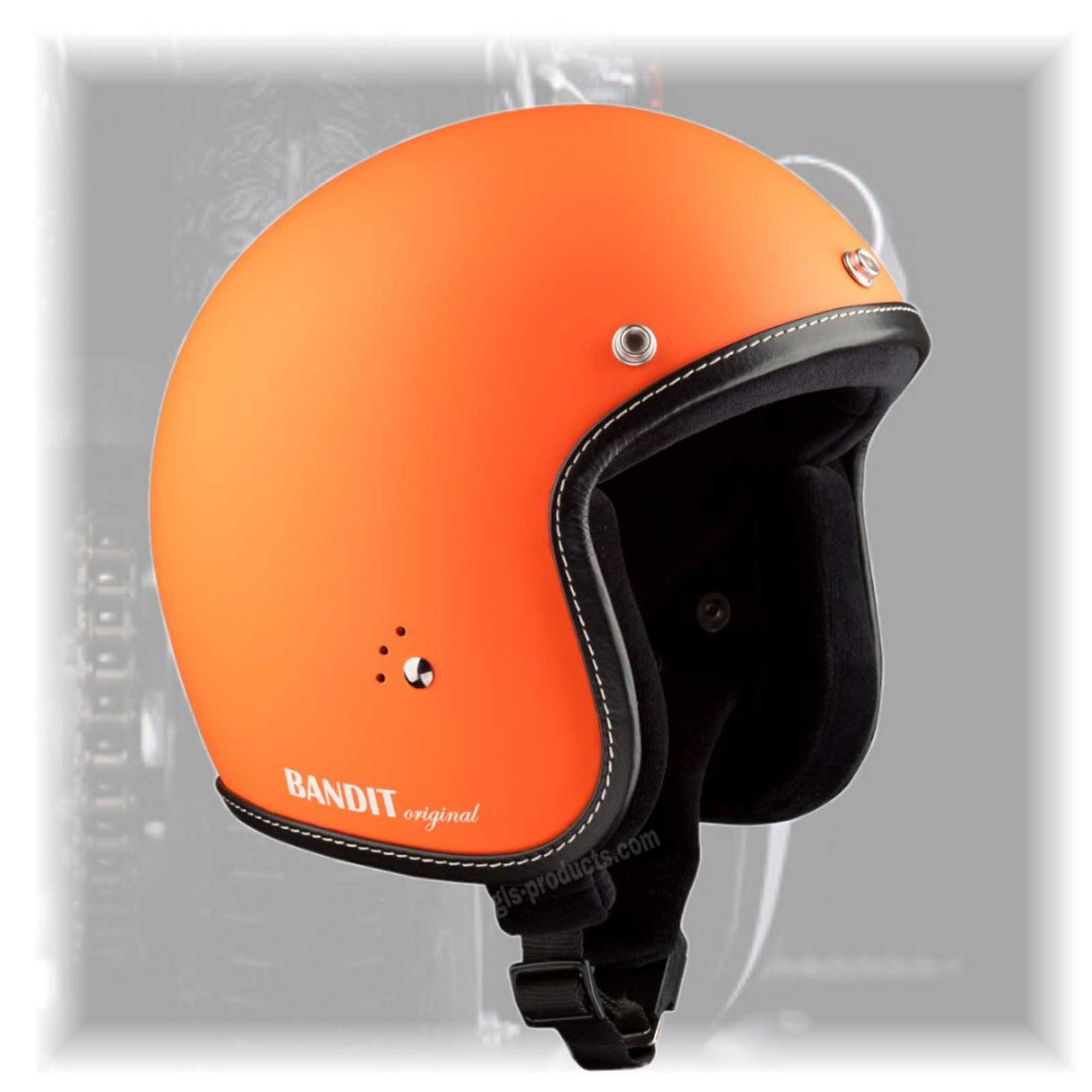 Bandit Helmets Premium Open Face Helmet – Picture 5