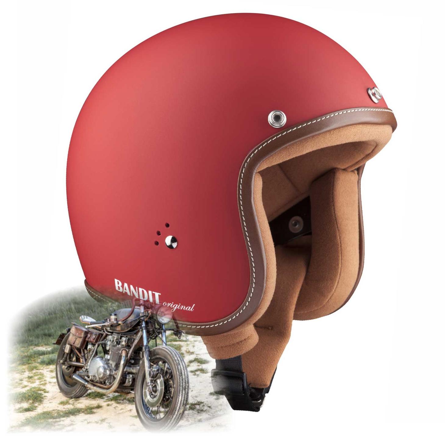 Bandit Helmets Premium Open Face Helmet – Picture 3