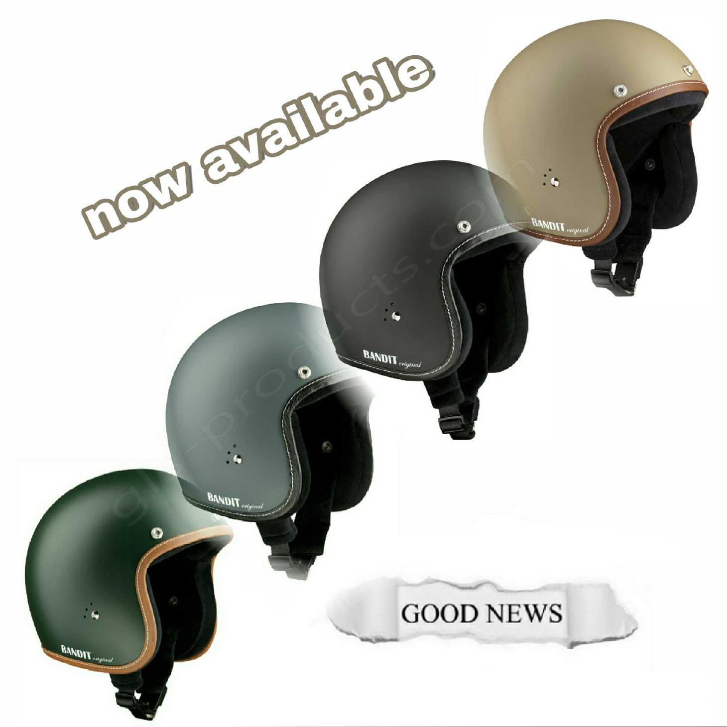 Bandit Helmets Premium Open Face Helmet – Picture 6