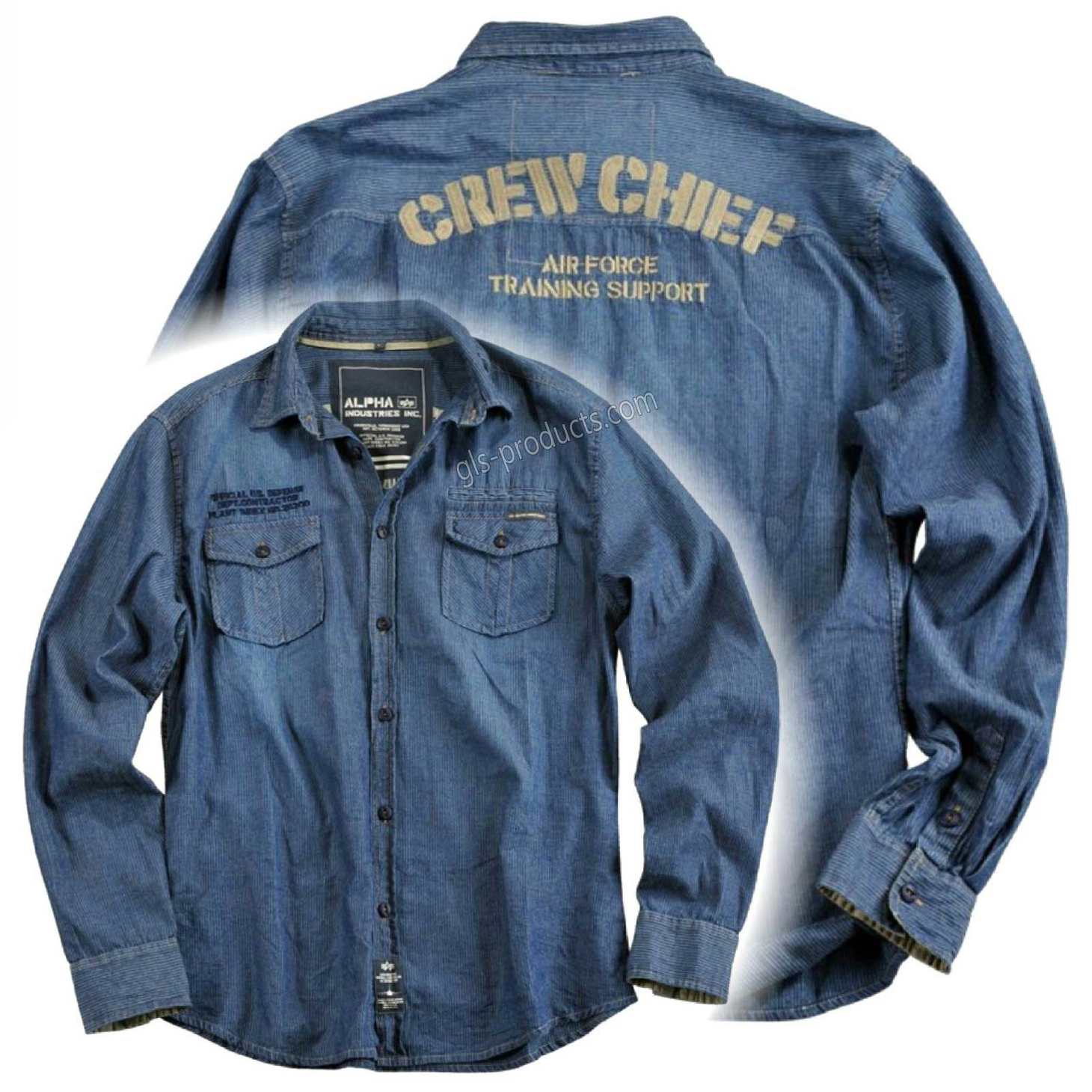 Alpha Industries Crew Chief Shirt 133606 – Picture 4