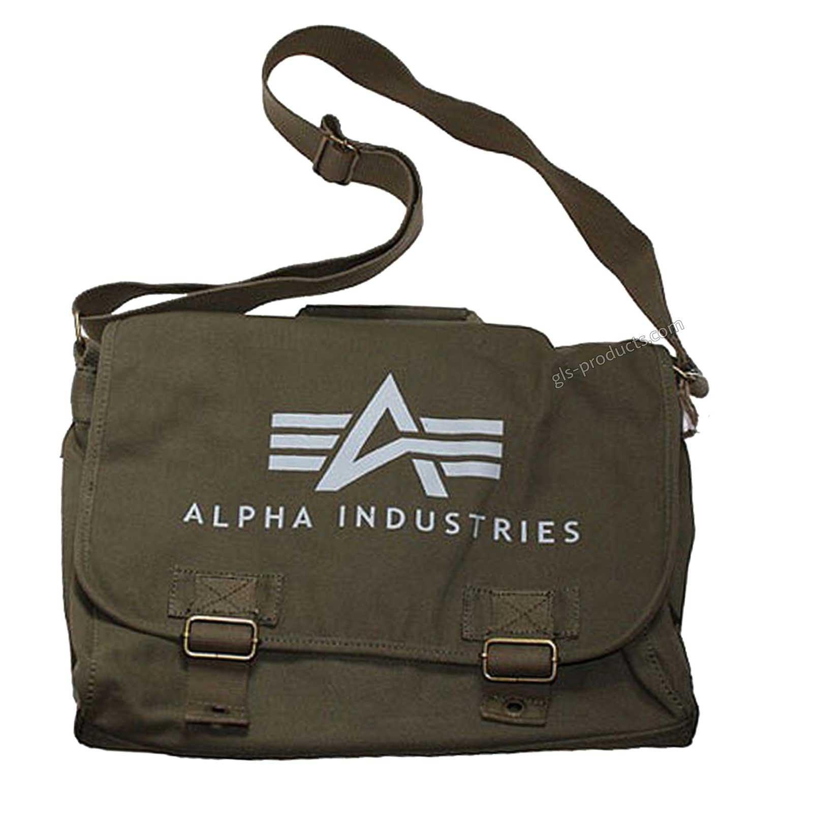 ec07f364f5 Alpha Industries Courier Bag Big A 101901 101906 – Bild 2