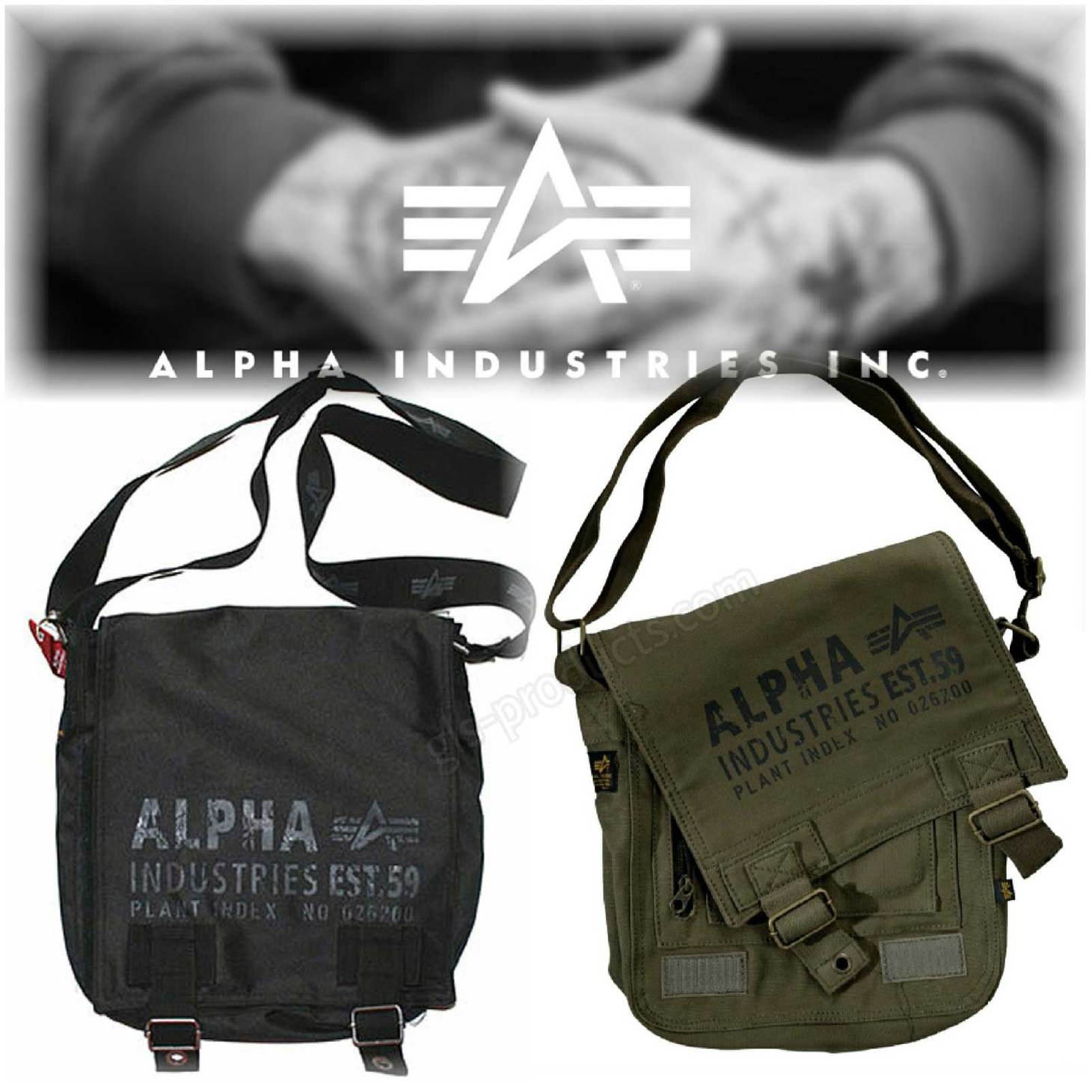 Alpha Industries Cargo Utility Bag 101912 101917 – Picture 1