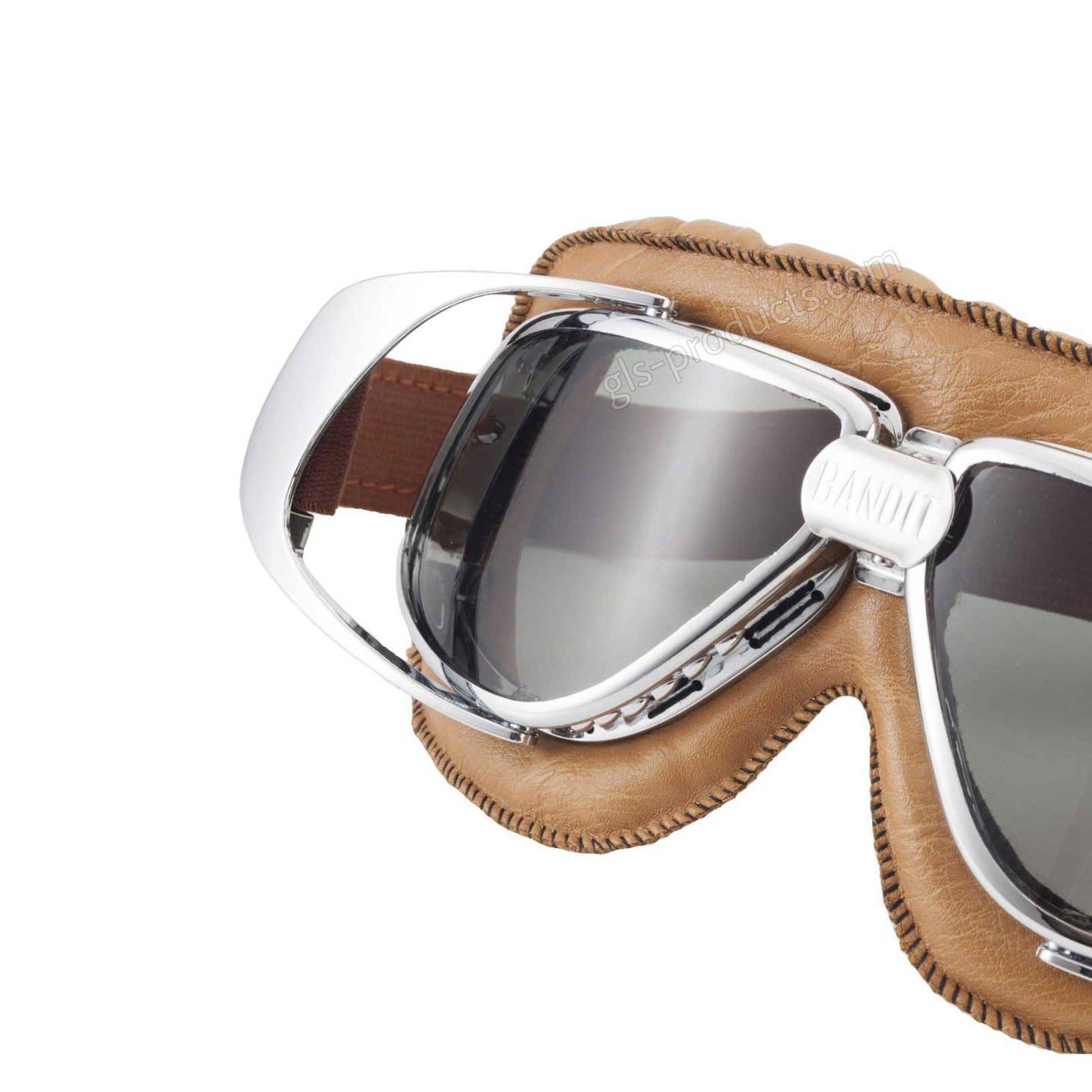 Bandit Motorcycle Glasses Goggles brown – Picture 7