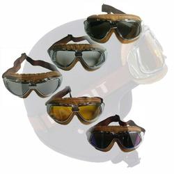 Bandit Motorradbrille Goggles braun – Bild 8