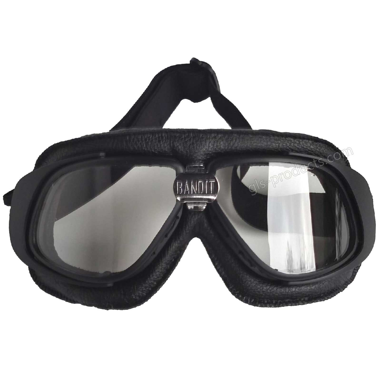 Bandit Motorcycle Glasses Goggles black – Picture 2