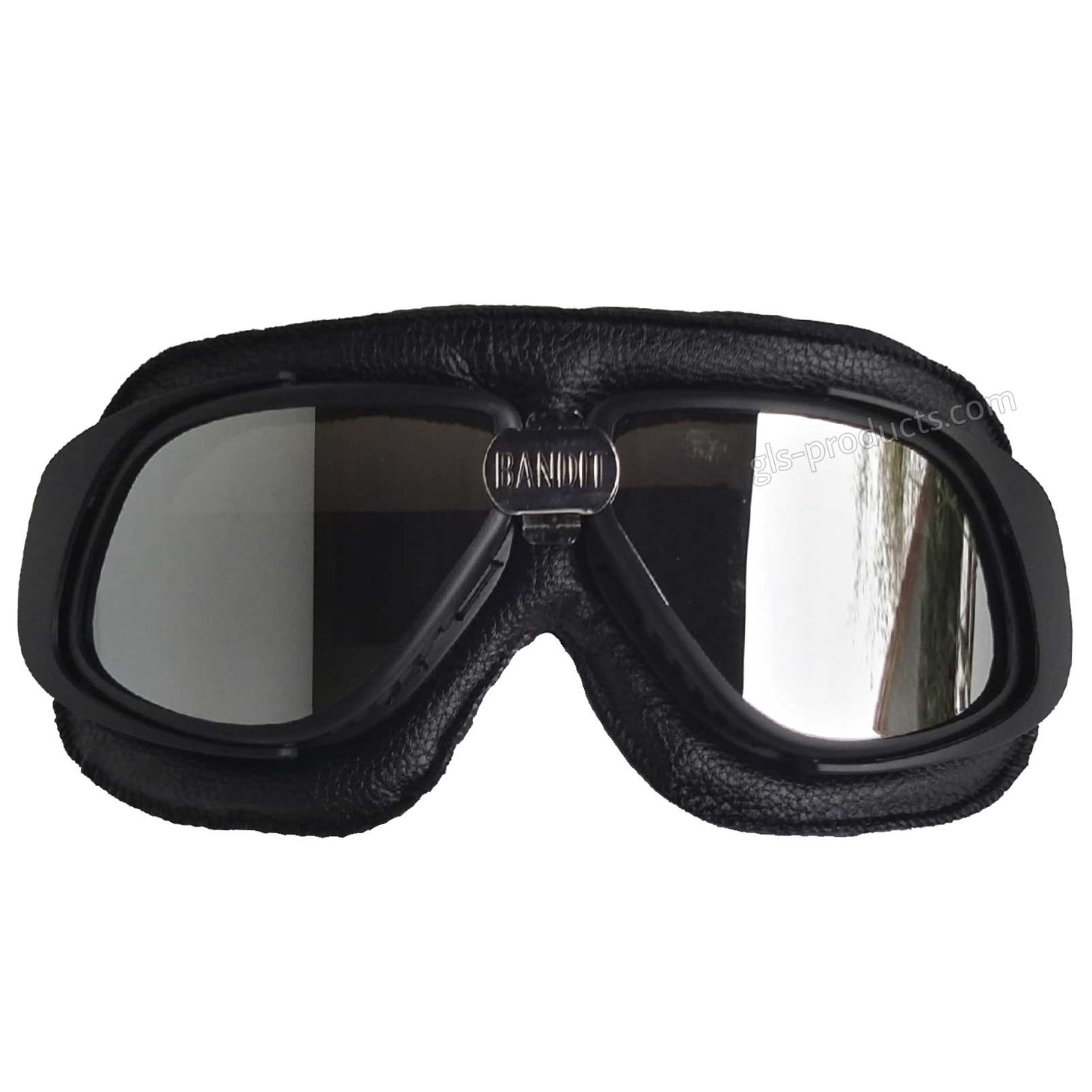 Bandit Motorcycle Glasses Goggles black – Picture 6