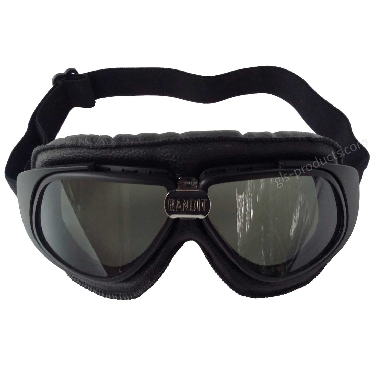 Bandit Motorcycle Glasses Goggles black – Picture 3