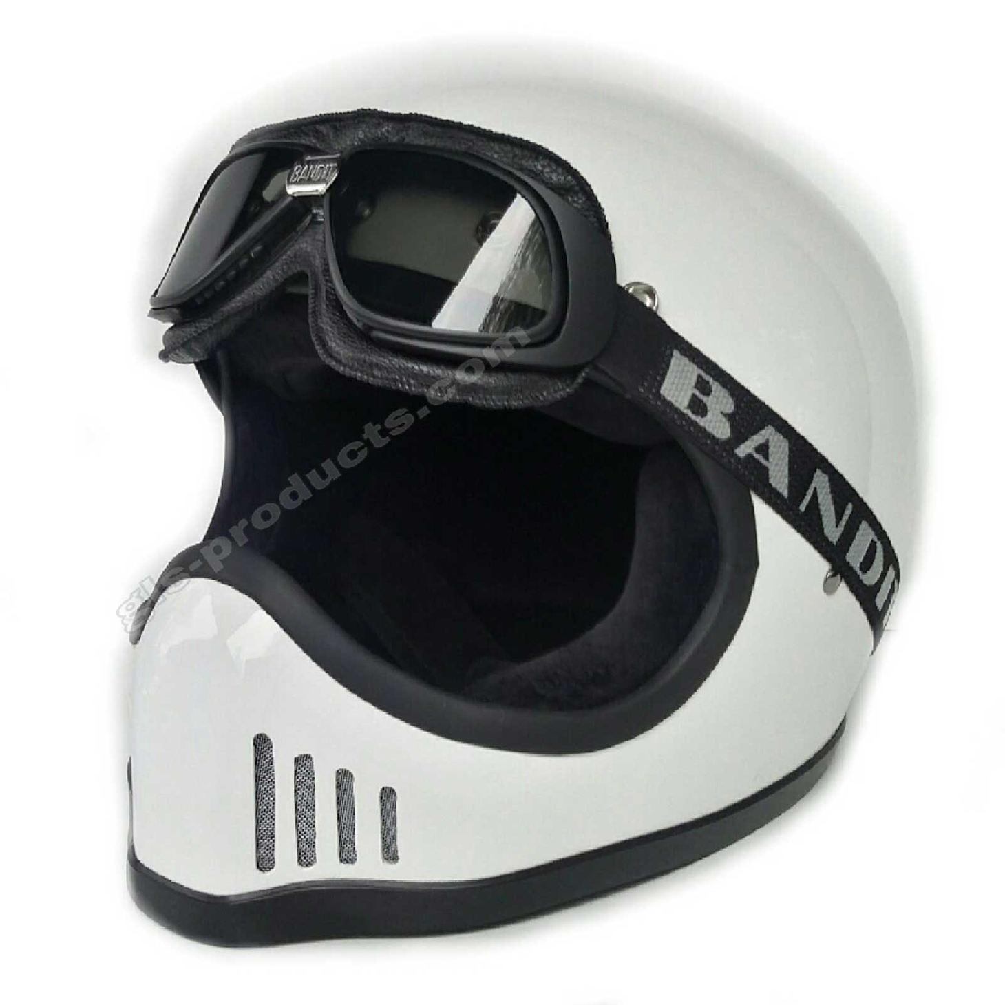 Bandit Motorcycle Glasses Goggles black – Picture 8