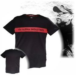 Alpha Industries Red Stripe T 186502 001
