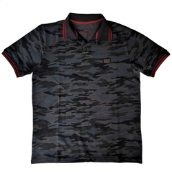 Alpha Industries Twin Stripe Camo Polo 166603 – Bild 2