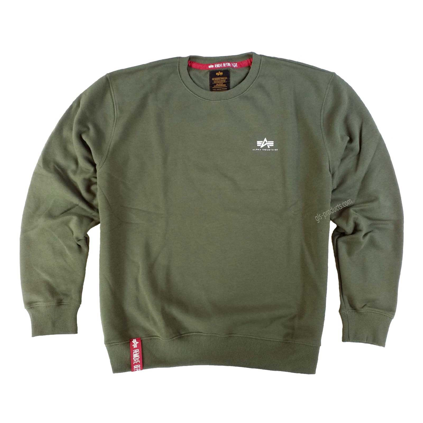 Alpha Industries Basic Sweater Small Logo 188307 – Picture 3