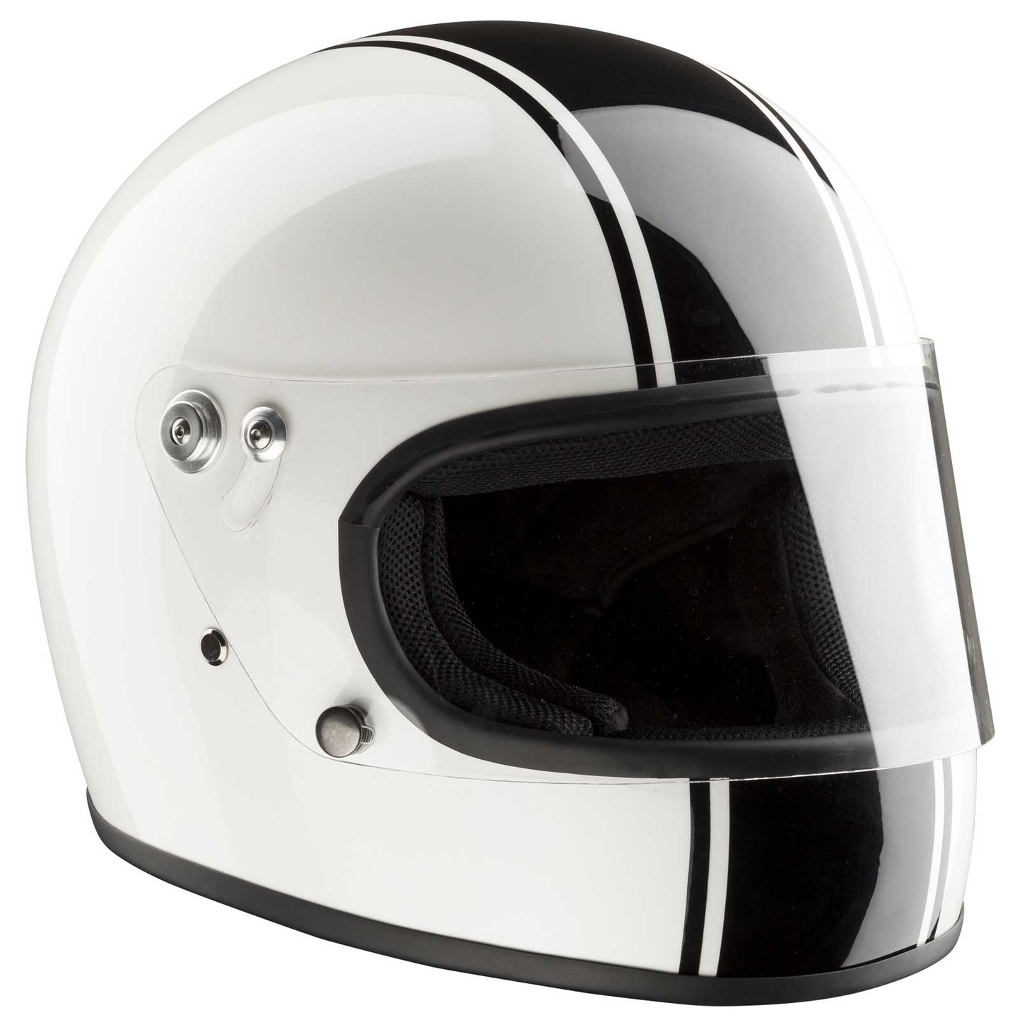 Bandit Integral ECE 22-05 homologated Retro Motorcycle Helmet – Picture 2