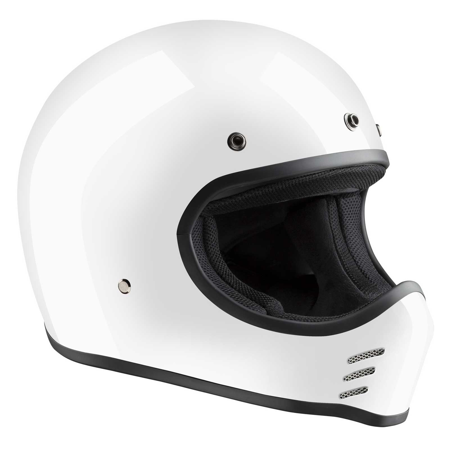 Bandit ECE 22-05 HMX Historic Moto Cross Helmet – Picture 2
