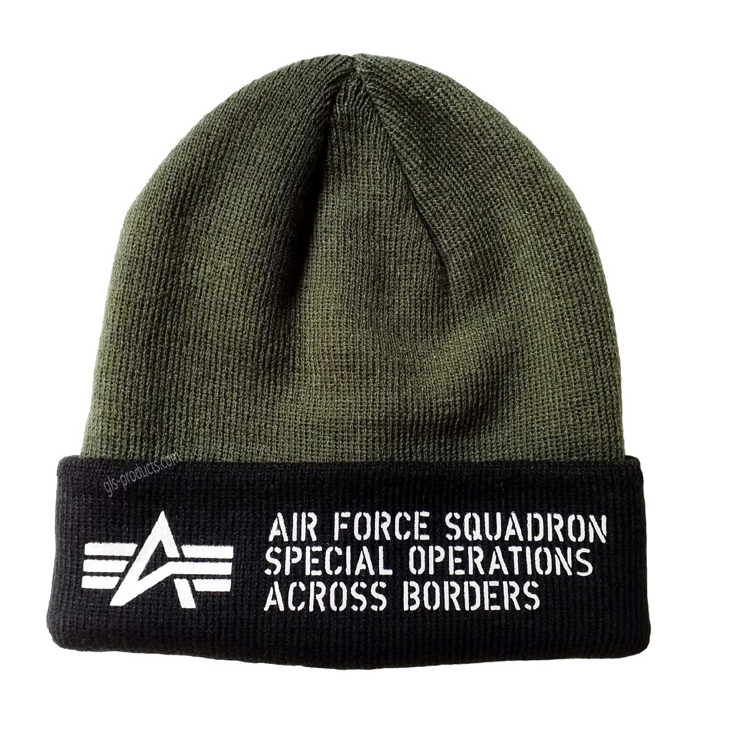 Alpha Industries Air Force Beanie 188904 – Picture 3