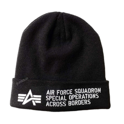 Alpha Industries Air Force Beanie 188904 – Bild 2