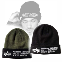 Alpha Industries Air Force Beanie 188904 – Bild 1