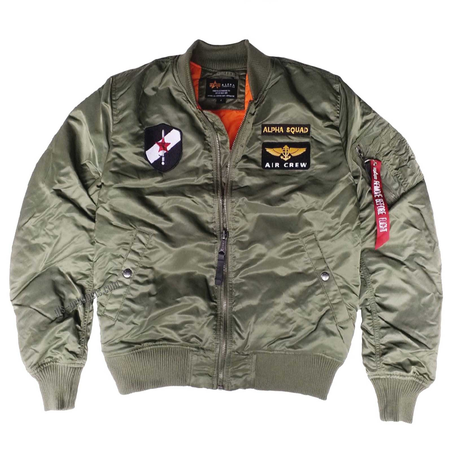 Alpha Industries MA-1 VF Custom Squad188109 – Picture 6