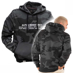 Alpha Industries Cargo Rubber Print Hoody 188313 – Bild 2