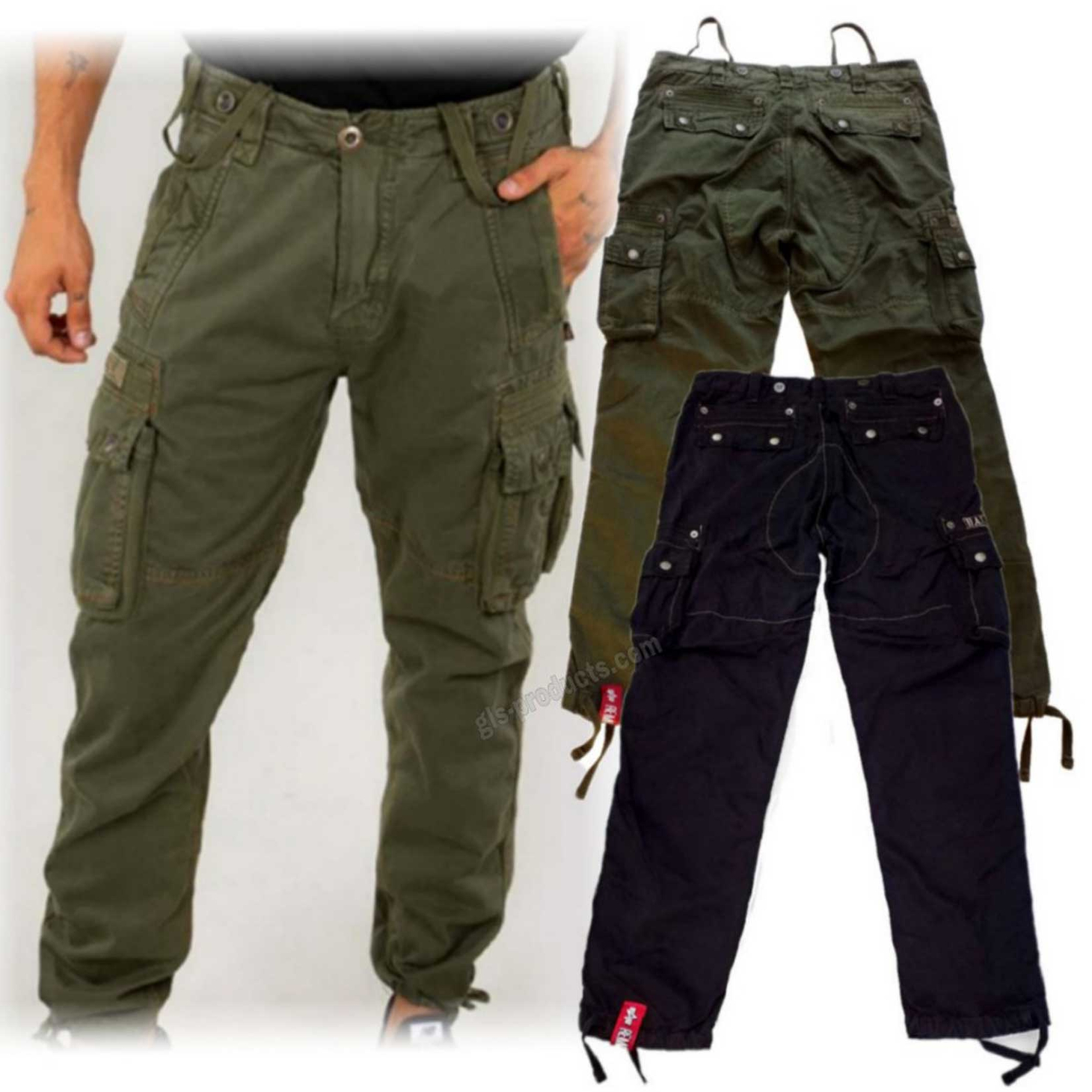Alpha Industries Rugg Pant 188204 – Picture 1