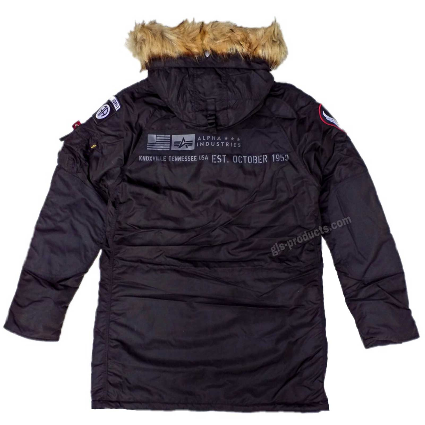 Alpha Industries N3B Airborne 188141 Hip-length hooded jacket – Picture 4