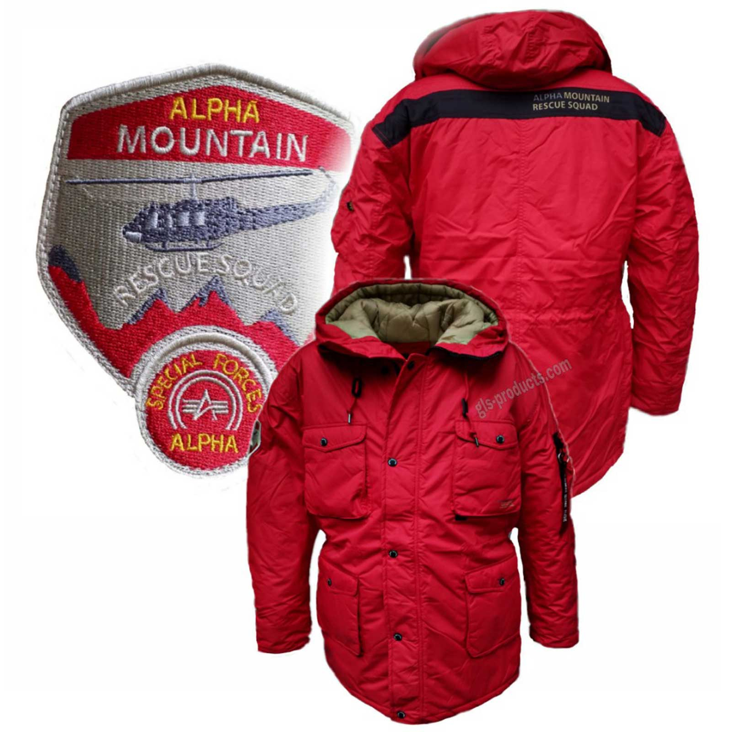 Alpha Industries Mountain All Weather Jacket 188144 – Picture 6